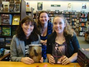 Bethany Griffin, Kelly Creagh, & I