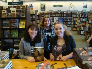 Bethany Griffin, Kelly Creagh, & Lauren